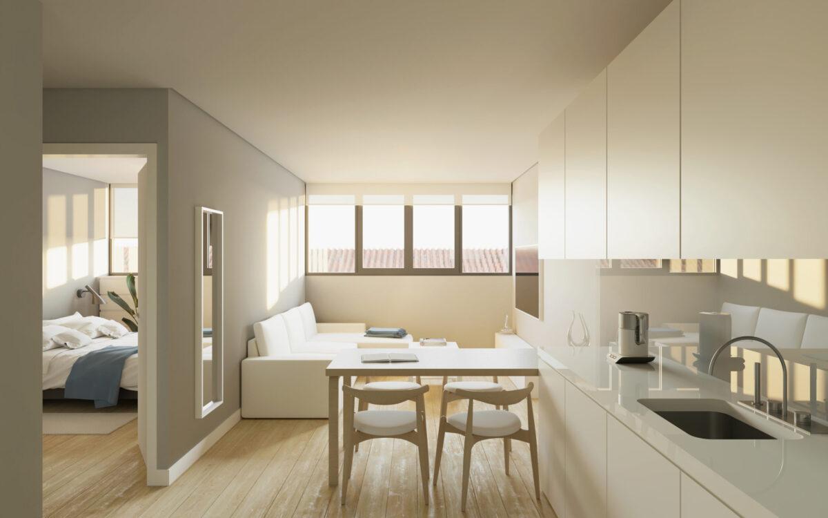 Interior P4B apartamento