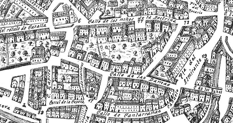 Plano Ventura Seco 1738