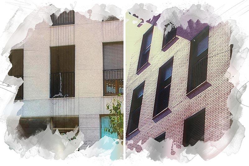 Rehabilitaciones Gaunia calle Vega y calle Mantería