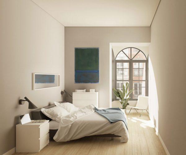 Interior P3C habitación